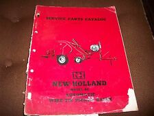 New Holland Model 80 Automatic Pickup Hay Baler Parts Catalog Manual Issue 7-57