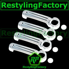 Triple Chrome plated ABS 4 Door Handle Cover for 2008-2012 JEEP Liberty