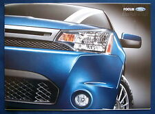 Prospekt brochure 2010 Ford Focus (USA)