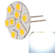 G4 9 SMD LED 5050 Warm White 3500K Car Spot Marine Light Lamp Bulb Vertical Pin