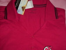 NHL New Jersey DEVILS Hockey Golf Jersey/Polo Shirt Women's M