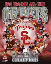 USC TROJANS All-Time Greats Glossy 8x10 Photo College NCAA Football Poster Print