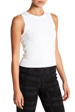 NWT Nicole Miller Artelier Crew Neck Knit Ivory Tank Top Blouse Large Exclusive