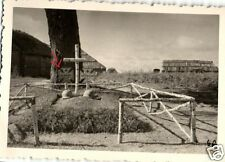 20871/ Originalfoto 9x6cm Soldatengräber Lt. Fendt, Gefr. Schimmel, Russl. 1941