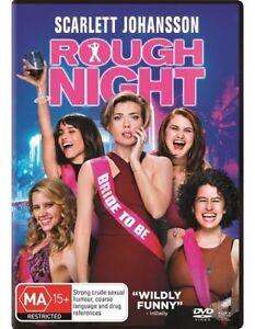 Rough Night (DVD, 2017) Region 4 - Scarlett Johansson,Kate McKinnon