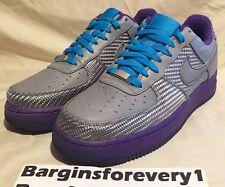 "Nike Air Force 1 Premium '07 ""Japan"" - Size 8 - Waterway/Laser Blue - 315180-331"