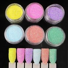 6 Colors/Lot Acrylic Powder Dust UV Gel Design Tips Decoration Manicure Nail Art