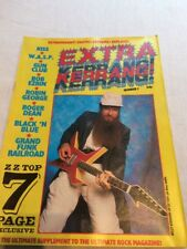 Extra Kerrang! #3 ZZ Top, Kiss, W.A.S.P, Robin George, Roger Dean *Ex.Cond*