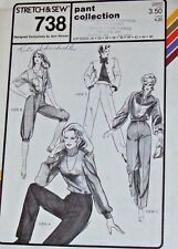 Stretch & Sew Master Pattern 738 Ms 30-46  Ann Person Pant Collection & Knickers