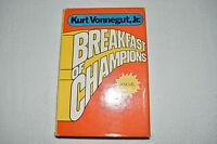BREAKFAST OF CHAMPIONS Kurt Vonnegut HCDJ 1973 1ST ORIGINAL BOOK CLUB EDITION!