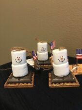The Original Smores Orn - USA Flag - Set Of 3
