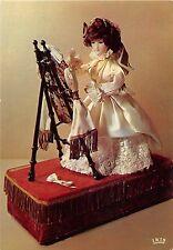 BF39106 monaco la dame au miroir poupees   art postcard