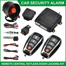 Car Alarm Security Keyless Entry System Immobiliser Remote Central Locking Kit
