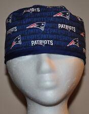 Men's NFL New England Patriots Small Logo Scrub Cap/Hat One Size Fits Most