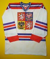 4.9/5 Czech vintage retro hockey jersey size XL shirt