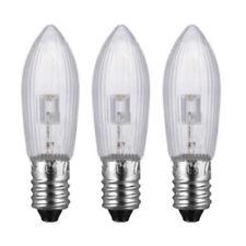 3x Led 10V-55V Bougie Mes E10 Miniature Vis Edison C2 Décoration Ampoule