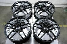 "New listing 19"" Wheels Bmw 318 320 323 325 328 340 X1 X3 X5 X6 Range Rover Black Rims 5x120"