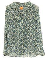 Joe Fresh Long Sleeve Button Up Womens S / P