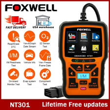Foxwell NT301 OBD2 Scanner Code Reader Car Check Engine Fault Diagnostic Tool