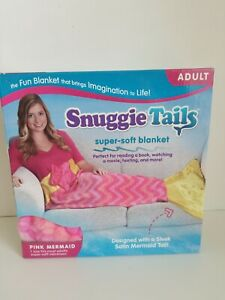 Snuggie Tails Mermaid Blanket Pink Mermaid NEW Fits most adults