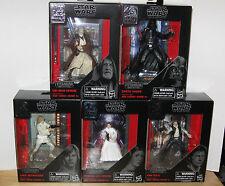 Star Wars Black Series Titanium 40th Anniversary Set Of 5 Vader Kenobi Leia Solo