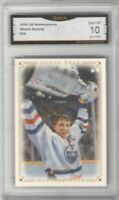 2008-09 UD Masterpieces #38 Wayne Gretzky   GEM MINT 10