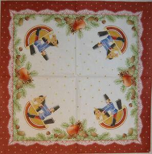 PAPER TABLE NAPKINS FOR CRAFT VINTAGE CHRISTMAS DECO DECOUPAGE TEA PARTIES 392