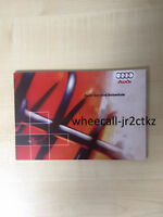 AUDI SERVICE BOOK, BRAND NEW AND GENUINE, FOR ALL PETROL AND DIESEL MODEL CARS!