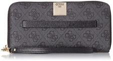 GUESS Christy SLG Large Zip Around Wallet Coal