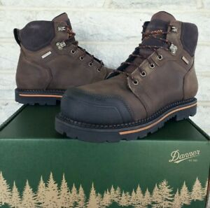 "Danner Mens 6"" Trakwelt Composite Toe Waterproof Work Boots Size 13  13247 $180"