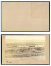 Palestine, Jéricho Panorama CDV vintage albumen,  Tirage albuminé  6,5x10,5