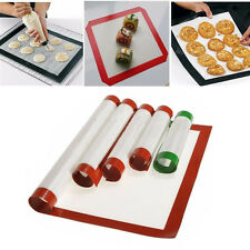 Baking Mat Oven Baking Tray Sheet Non-Stick Silicone Baking Pad For Cake Cookie