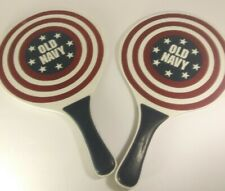 Old Navy racquet Ball Juego Paletas Paddle Set 2