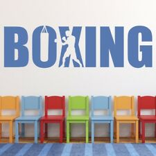 Boxing Extreme Sports Wall Sticker WS-50392