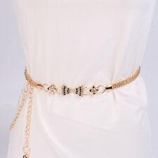 Stylish Noble Cute Luxury Women's Lady Girls Fashion Metal Chain Style Belt Body