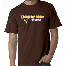 Country Boys Do It Better Country Boy Can Survive T-Shirt Country Music