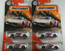 2020 Matchbox White Lamborghini Gallardo Police Car LOT OF 4