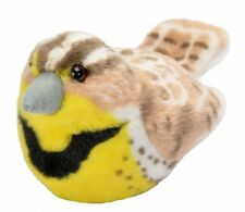 Western Meadowlark Audubon Bird w/ call stuffed animal plush Wild Republic