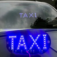 Taxi Cab Windscreen Windshield Sign LED Light High Brightness Car Lamp Bulb