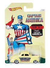 HOT WHEELS CAPITAN AMERICA '40 FORD COUPE DJK75 - 2015