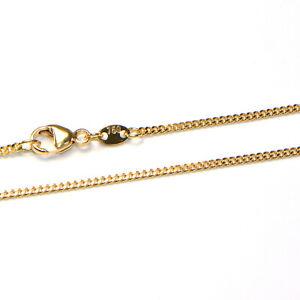 Goldkette 18K Gelbgold 750 Panzer Collier Halskette diverse Breiten und Längen