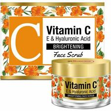 StBotanica Vitamin C E & Hyaluronic Acid Brightening Face Scrub 50g