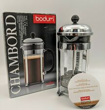 Bodum Chambord 8 Cup 34 ounce French Press Coffee Maker Black