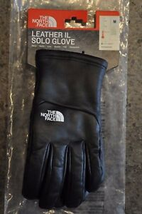 Supreme The North Face Leather IL Solo Gloves - Black M Medium