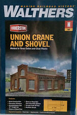Walthers 1/160 N Scale Cornerstone Union Crane And Shovel Item # 933-3826 F/S