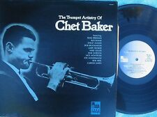 Chet Baker ORIG US LP Trumpet artistry of NM '82 Pausa MONO Jazz Hard Bop