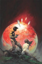 "Red Planet by Frank Frazetta Science Fiction Mini Poster- 11"" x 17"""