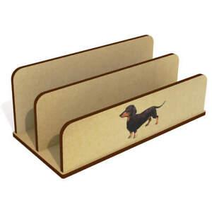 'Dachshund' Wooden Letter Rack / Holder (LH00038449)