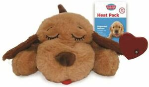 SmartPetLove Snuggle Puppy Behavioural Aid Toy Biscuit with Pulsing Heartbeat
