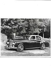 BENTLEY S3 SALOON ORIGINAL PRESS PHOTO 'BROCHURE RELATED'